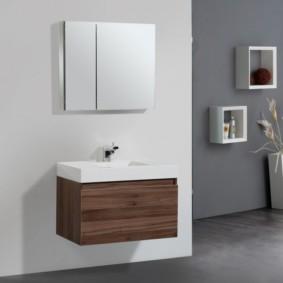 тумба для ванной фото интерьер