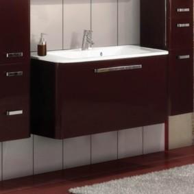 тумба для ванной виды дизайна