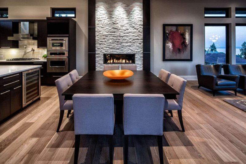 Мягкие спинки кухонных стульев
