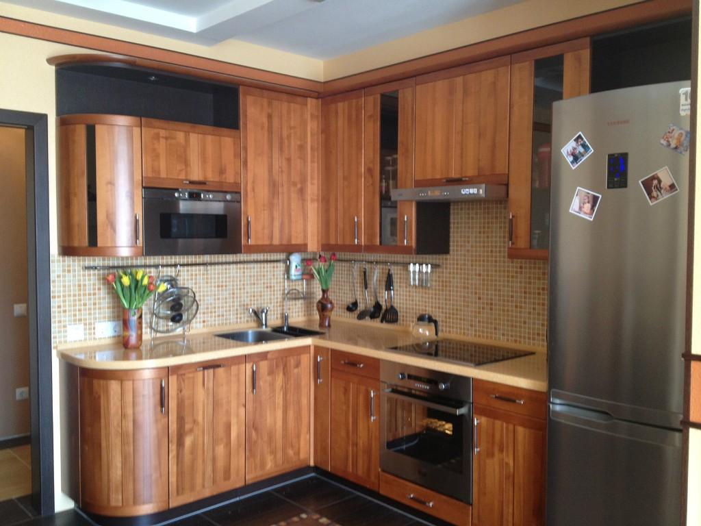 фото небольших угловых кухонь