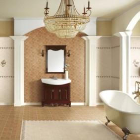ванная с мебелью премиум класса фото интерьер