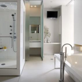 ванная с мебелью премиум класса идеи декора