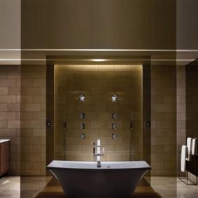ванная с мебелью премиум класса идеи дизайн