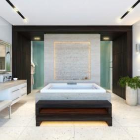 ванная с мебелью премиум класса фото декор