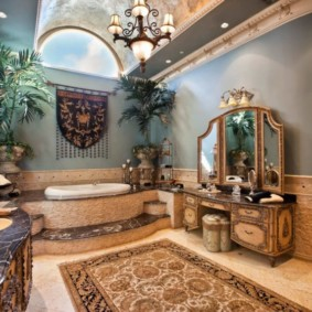 ванная с мебелью премиум класса фото декора