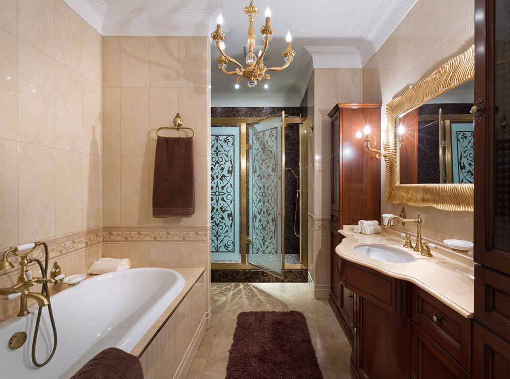 ванная с мебелью премиум класса фото идеи