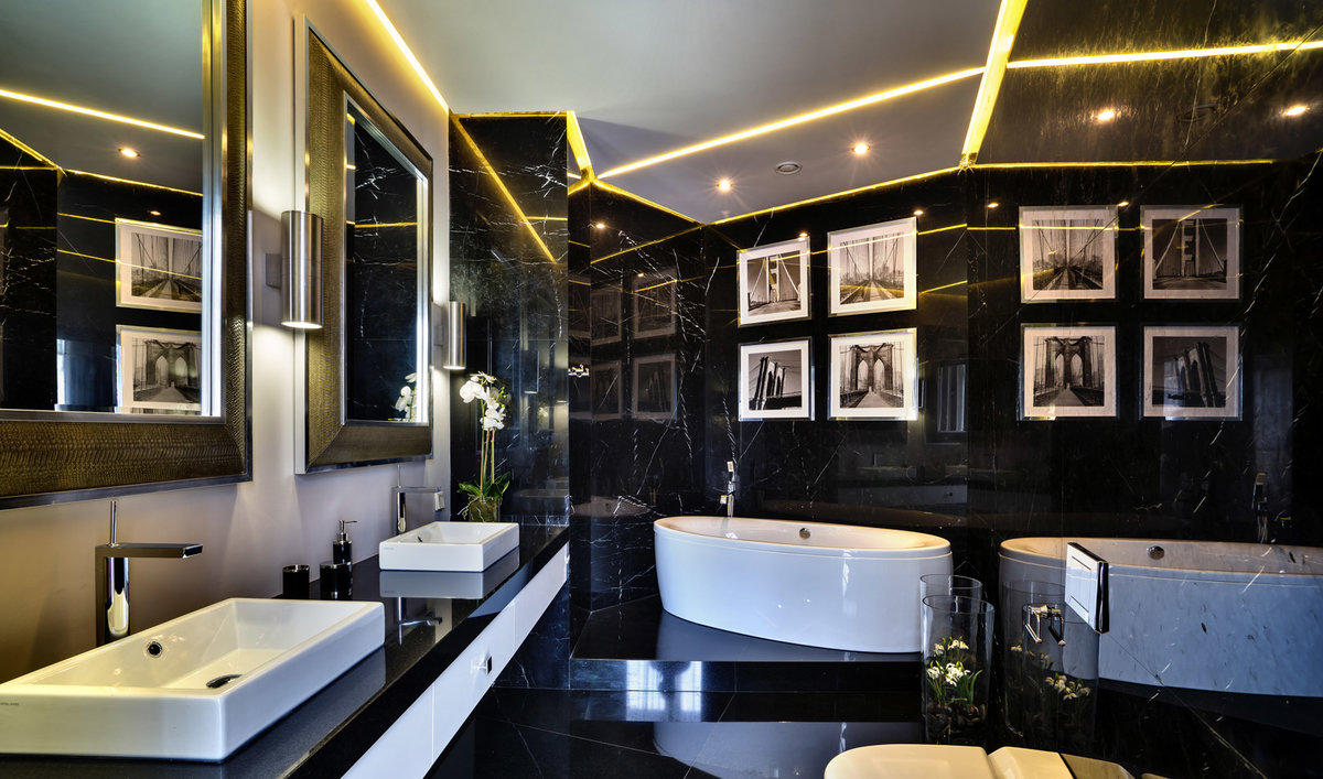 ванная с мебелью премиум класса идеи фото