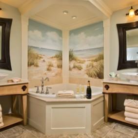ванная с мебелью премиум класса идеи виды