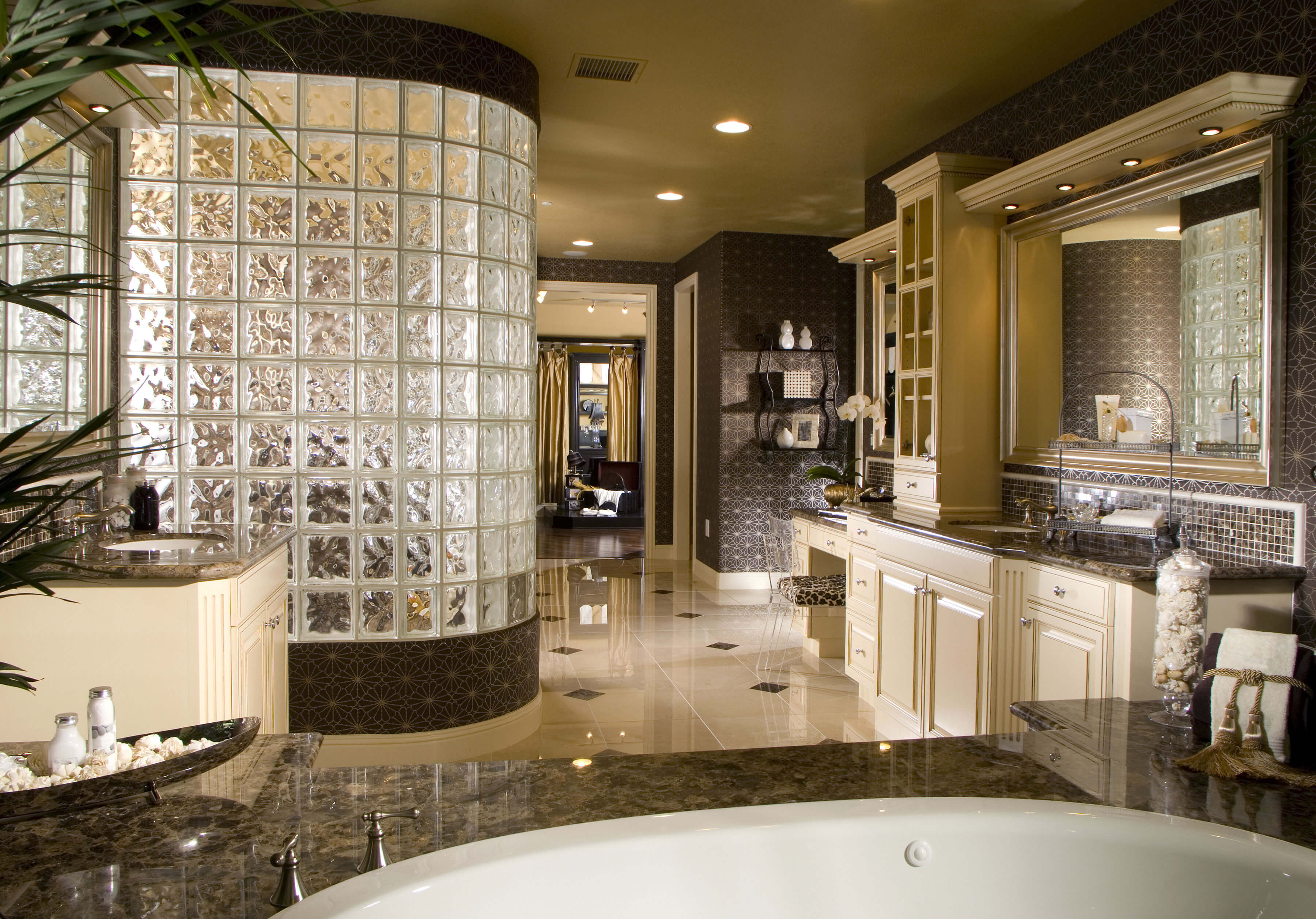 ванная с мебелью премиум класса