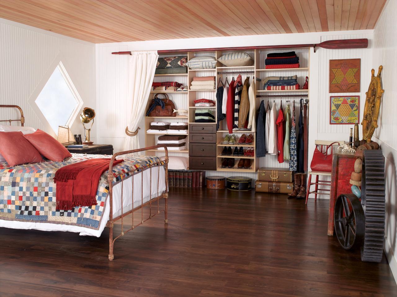 варианты гардеробной в спальне