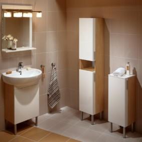 высота зеркала над раковиной в ванной идеи