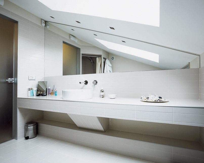 высота зеркала над раковиной в ванной варианты