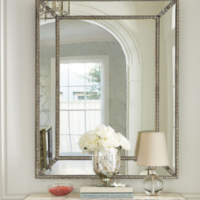 высота зеркала над раковиной в ванной идеи дизайн