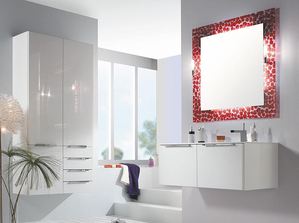 высота зеркала над раковиной в ванной идеи виды