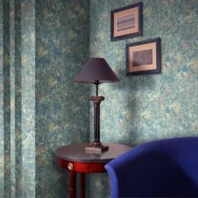 жидкие обои в коридоре идеи дизайн