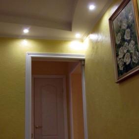 жидкие обои в коридоре какие бывают
