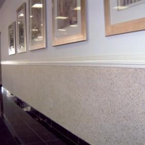 жидкие обои в коридоре виды фото