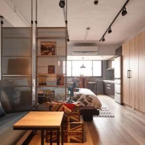 лофт в маленькой квартире зона отдыха