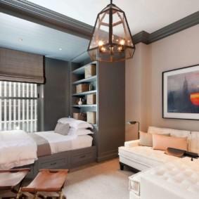 спальня 16 кв метров