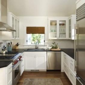 кухня в панельном доме фото оформления