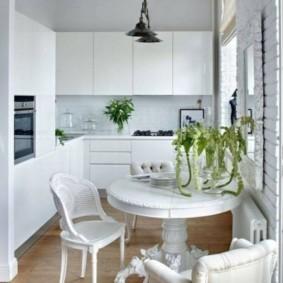 кухня в панельном доме оформление идеи