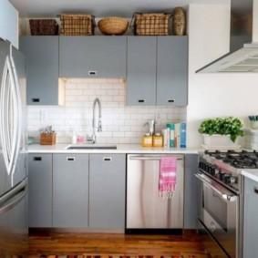 кухня в панельном доме фото вариантов