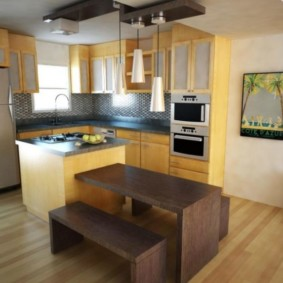 кухня в панельном доме варианты идеи