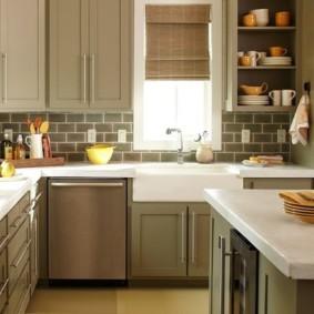 кухня в панельном доме идеи варианты