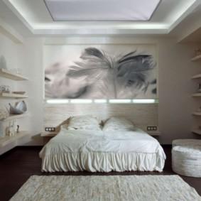 дизайн спальни 14 кв м фото