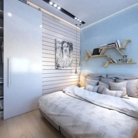 дизайн спальни 14 кв м идеи