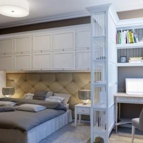 спальня 15 кв метров фото
