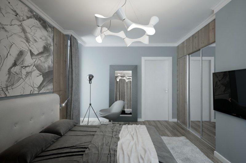 спальня 15 кв метров хай тек