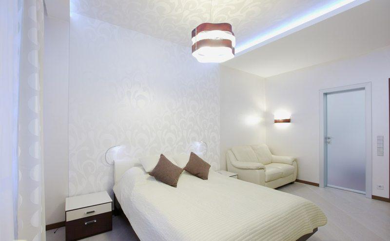 спальня 15 кв метров минимализм