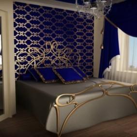 спальня 15 кв метров классический стиль