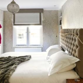 спальня 15 кв метров с балконом