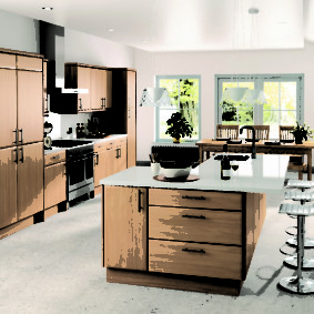 барная стойка для кухни идеи дизайн