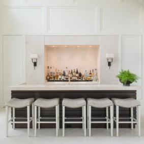барная стойка для кухни декор