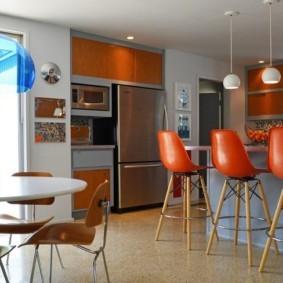 барная стойка для кухни фото декор