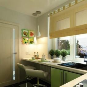 барная стойка для кухни декор идеи