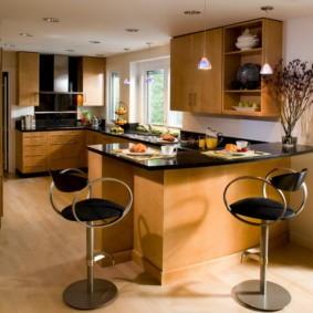 барная стойка для кухни варианты идеи