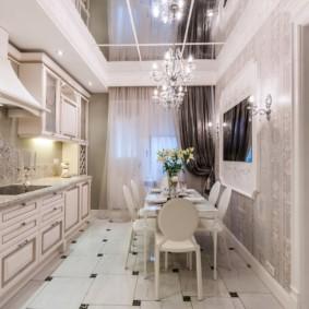 современная кухня 2019
