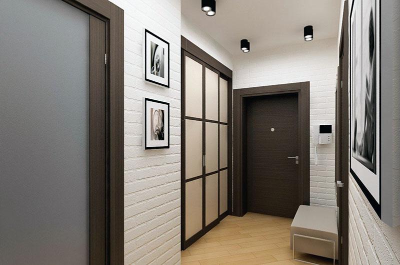 дизайн узкого коридора идеи