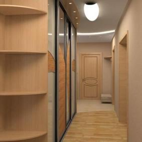 дизайн коридора декор
