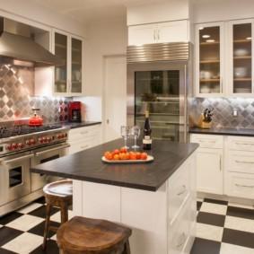 дизайн кухни 2019 кафе