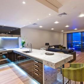 современная кухня 2019 идеи варианты