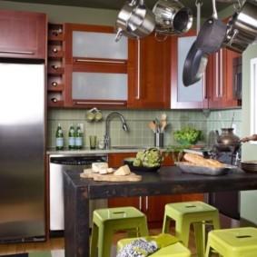 кухня в панельном доме идеи