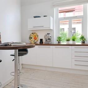 кухня в панельном доме фото идеи