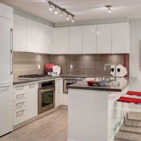кухня в панельном доме фото дизайн