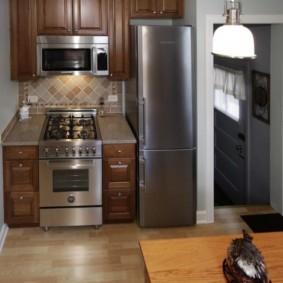 кухня в панельном доме дизайн идеи