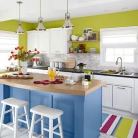 кухня в панельном доме декор фото